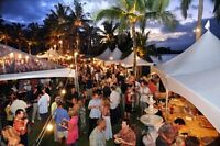 ALL VENDORS SPONSORS AND BUSINESSES WANTED FOR OUTDOOR FESTIVALS