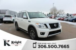 2018 Nissan Armada SL Low KMs! Accident Free! Command Start! Blu