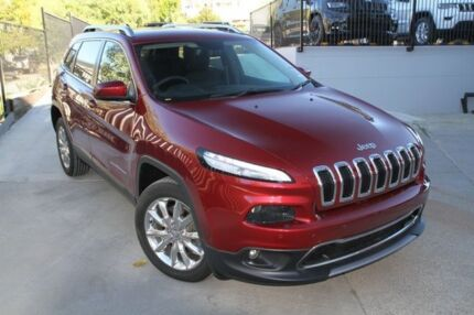 2015 Jeep Cherokee KL MY16 Limited Cherry Red 9 Speed Sports Automatic Wagon