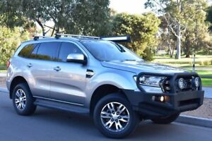 2017 Ford Everest UA Trend 4WD Silver 6 Speed Sports Automatic Wagon St Marys Mitcham Area Preview