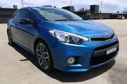 2013 Kia Cerato YD MY14 Koup Turbo Blue 6 Speed Sports Automatic Coupe Sydney City Inner Sydney Preview