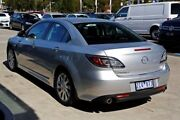 2012 Mazda 6 GH1052 MY12 Touring Silver 5 Speed Sports Automatic Sedan Cairnlea Brimbank Area Preview