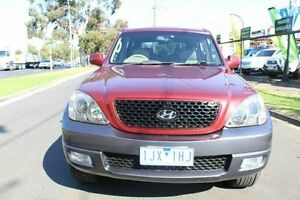 2006 Hyundai Terracan HP MY06 Highlander Red 4 Speed Automatic Wagon West Footscray Maribyrnong Area Preview