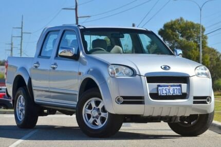 2009 Great Wall V240 K2 (4x2) Silver 5 Speed Manual Dual Cab Utility Malaga Swan Area Preview