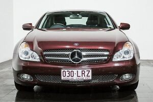 2009 Mercedes-Benz CLS350 C219 MY09 Coupe Burgundy 7 Speed Sports Automatic Sedan Rozelle Leichhardt Area Preview