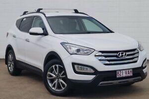 2014 Hyundai Santa Fe DM MY14 Elite White 6 Speed Sports Automatic Wagon Bundaberg Central Bundaberg City Preview