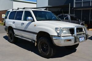 1999 Toyota Landcruiser FZJ105R RV (4x4) White 5 Speed Manual 4x4 Wagon Welshpool Canning Area Preview