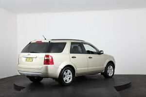 2005 Ford Territory SX Ghia (4x4) Gold 4 Speed Auto Seq Sportshift Wagon McGraths Hill Hawkesbury Area Preview