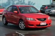 2004 Mazda 3 BK10F1 Neo Red 4 Speed Sports Automatic Sedan Southport Gold Coast City Preview