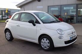 FIAT 500 1.2 POP 3d 69 BHP - VIEW 360 SPIN ON WEBSITE (white) 2013