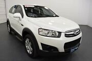 2013 Holden Captiva CG MY13 7 SX (FWD) Heron White 6 Speed Automatic Wagon Moorabbin Kingston Area Preview