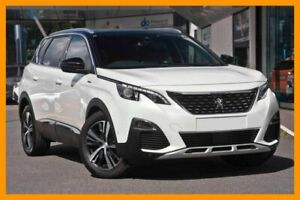 2017 Peugeot 5008 MY18 GT Line White 6 Speed Automatic Wagon