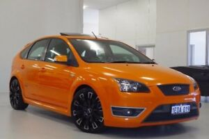 2007 Ford Focus LS XR5 Turbo Orange 6 Speed Manual Hatchback Myaree Melville Area Preview
