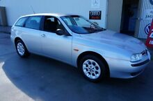 2000 Alfa Romeo 156 2.0 Twin Spark Silver 5 Speed Manual Wagon Milperra Bankstown Area Preview