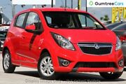 2013 Holden Barina Spark MJ MY13 CD Red 4 Speed Automatic Hatchback Moorooka Brisbane South West Preview