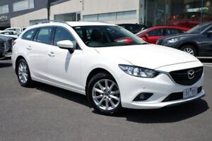 2014 Mazda 6 GJ1031 MY14 Touring SKYACTIV-Drive White 6 Speed Sports Automatic Wagon