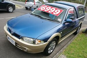 2008 Proton Jumbuck GLSi Blue & Silver 5 Speed Manual Utility Briar Hill Banyule Area Preview