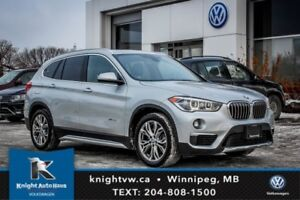 2016 BMW X1 xDrive28i w/ Leather/Sunroof/Backup Cam