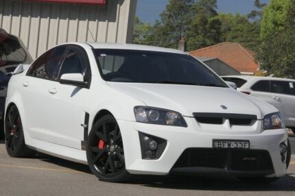 2008 Holden Special Vehicles GTS E Series MY08 Upgrade White 6 Speed Manual Sedan