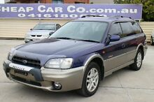 1999 Subaru Outback B3A AWD Blue 4 Speed Automatic Wagon Greenslopes Brisbane South West Preview