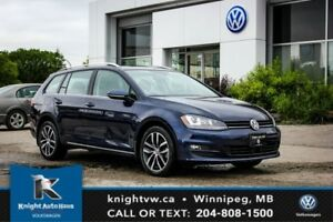 2015 Volkswagen Golf Sportwagon Highline TDI DSG w/ Tech Pkg 0.9