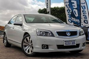 2014 Holden Caprice WN MY14 V White 6 Speed Sports Automatic Sedan Embleton Bayswater Area Preview