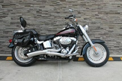 2007 Harley-Davidson FLSTF Fat Boy 1600CC Cruiser 1584cc Kunda Park Maroochydore Area Preview