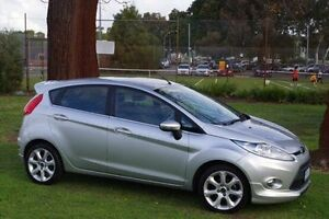 2010 Ford Fiesta WS Zetec Silver 4 Speed Automatic Hatchback Leederville Vincent Area Preview