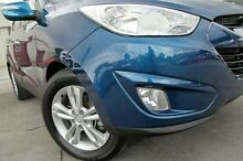 2010 Hyundai ix35 LM Elite AWD Blue 6 Speed Sports Automatic Wagon Pennant Hills Hornsby Area Preview