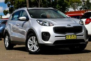 2017 Kia Sportage QL MY18 Si 2WD Silver 6 Speed Sports Automatic Wagon Condell Park Bankstown Area Preview