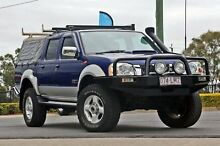 2008 Nissan Navara D22 MY2008 ST-R Blue 5 Speed Manual Utility Hillcrest Logan Area Preview