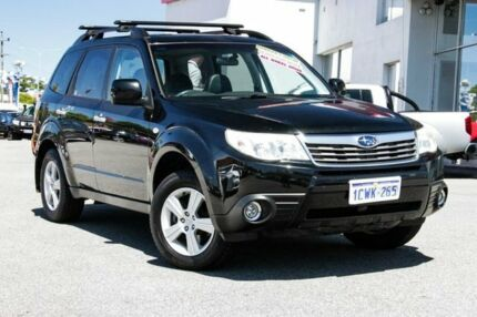 2008 Subaru Forester S3 MY09 XS AWD Premium Black 4 Speed Sports Automatic Wagon Myaree Melville Area Preview