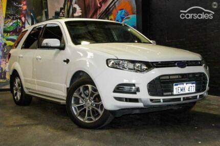 2011 Ford Territory SZ Titanium Seq Sport Shift White 6 Speed Sports Automatic Wagon