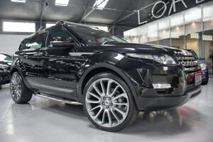 2013 Land Rover Evoque LV MY13 TD4 Pure Black 6 Speed Automatic Wagon Port Melbourne Port Phillip Preview