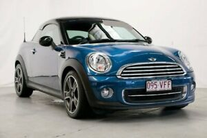 2013 Mini Coupe R58 Cooper Blue 6 Speed Sports Automatic Coupe