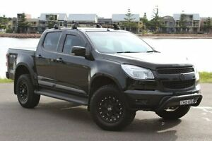 2013 Holden Colorado RG MY13 LT Crew Cab Black 5 Speed Manual Utility Hamilton East Newcastle Area Preview