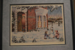 Limited Edition - Laura Berry Winter Traditions Framed