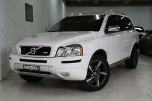 2012 Volvo XC90 P28 MY12 R-Design Geartronic White 6 Speed Sports Automatic Wagon Castle Hill The Hills District Preview