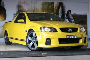 2011 Holden Ute VE II SV6 Yellow 6 Speed Manual Utility Liverpool Liverpool Area Preview