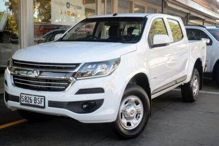 2017 Holden Colorado RG MY18 LS Pickup Crew Cab White 6 Speed Sports Automatic Utility Somerton Park Holdfast Bay Preview