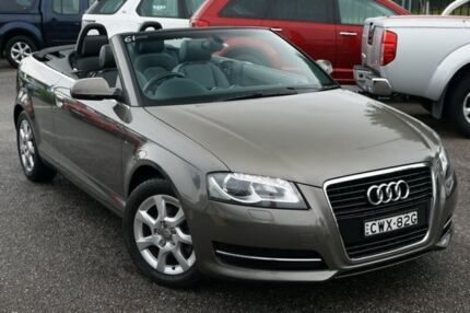 2010 Audi A3 8P MY11 TFSI S tronic Attraction Grey 7 Speed Sports Automatic Dual Clutch Convertible