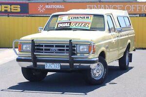 1987 Ford F150 1012 Yellow 5 Speed Manual Utility Heatherton Kingston Area Preview