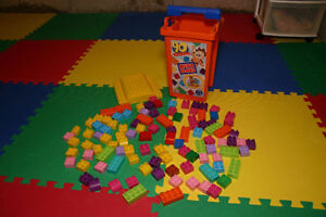 Mega Bloks! - assorted blocks with its own carrying case!