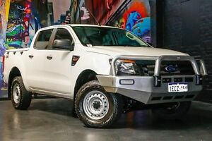 2013 Ford Ranger PX XL Double Cab White 6 Speed Sports Automatic Utility Northbridge Perth City Area Preview