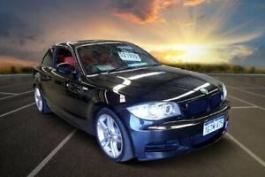 2010 BMW 135i E82 MY10 Sport Black Metallic 6 Speed Manual Coupe