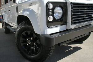 2014 Land Rover Defender MY14 110 (4x4) White 6 Speed Manual Wagon Petersham Marrickville Area Preview