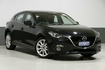 2014 Mazda 3 BL Series 2 MY13 SP25 Black 5 Speed Automatic Hatchback Bentley Canning Area Preview