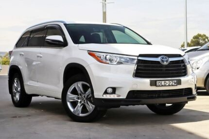 2016 Toyota Kluger GSU55R Grande AWD Crystal Pearl 6 Speed Sports Automatic Wagon Blacktown Blacktown Area Preview