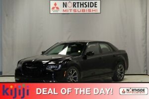 2017 Chrysler 300 S Leather,  Panoramic Roof,  Back-up Cam,  Blu