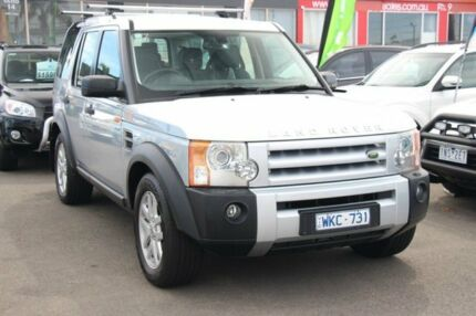 2008 Land Rover Discovery 3 Series 3 08MY SE Silver 6 Speed Sports Automatic Wagon Heatherton Kingston Area Preview